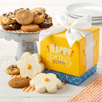 Mrs. Fields Flower Cookie Box