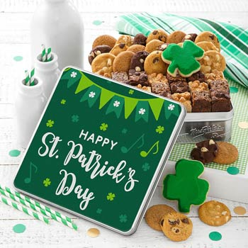 Happy St. Patricks Day Cookie Tin