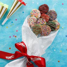 Celebration Chocolate-covered Cookie Bouquet