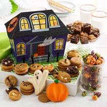 Mrs. Fields Haunted Cookie Tin