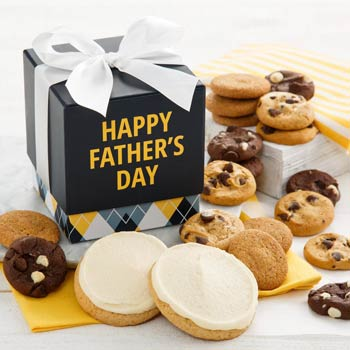 Fathers Day Cookie Box