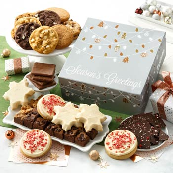 Mrs. Fields Holiday Fun Cookie Gift Box
