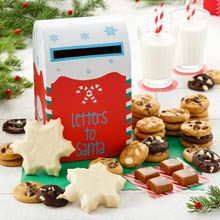 Mrs. Fields Holiday Cookie Mailbox