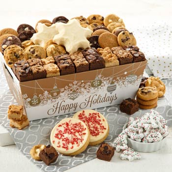 Mrs. Fields Holiday Sweet Treats Basket