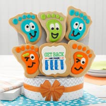 Get Well Cookie Gift Bouquet