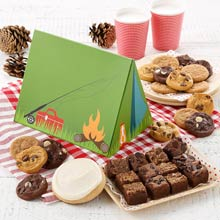 Mrs. Fields Camping Cookie Box