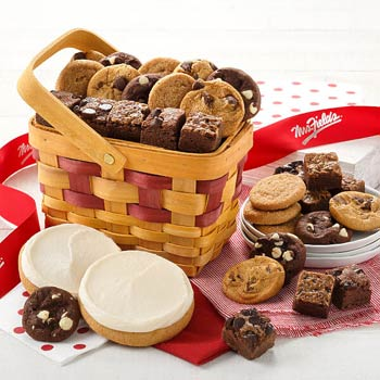 Mrs. Fields Cookies and Brownies Gift Basket