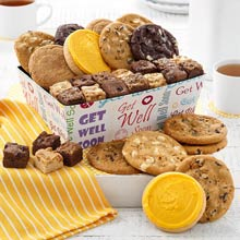 Mrs. Fields Get Well Soon Cookie Crate