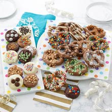 Chocolate-Covered Pretzels Gift