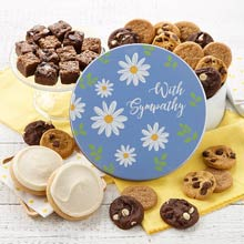 With Sympathy Cookie Gift Box