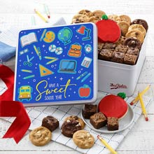 Mrs. Fields Back to School Cookie Tin