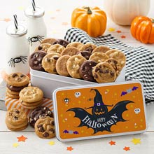 Halloween Cookie Tin