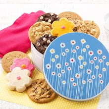 Mrs. Fields Spring Cookie Tin
