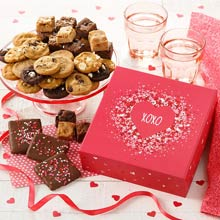 Mrs. Fields Valentines Cookie Gift Box