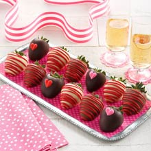 Valentine Chocolate-covered Strawberries