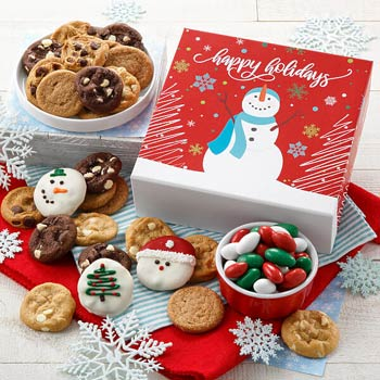 Mrs. Fields Holiday Celebration Cookie Box