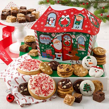 Santas Christmas Cookies Gift Box