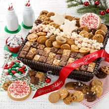 Mrs. Fields Deluxe Holiday Cookie Gift Basket