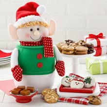 Mrs. Fields Holiday Cookie Jar