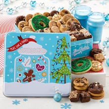 Mrs. Fields Christmas Cookie Tin