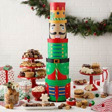 Mrs. Fields Nutcracker Gift Tower