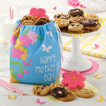 Mrs. Fields Flowered Mothers Day Gift