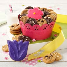 Mrs. Fields Garden Cookie Pail