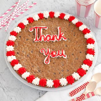 Mrs. Fields Thank You Cookie