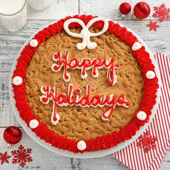 Mrs. Fields Happy Holidays Cookie