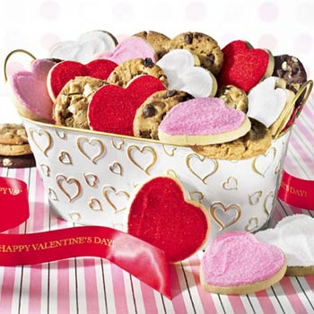 Mrs. Fields® Valentine Cookie Tin
