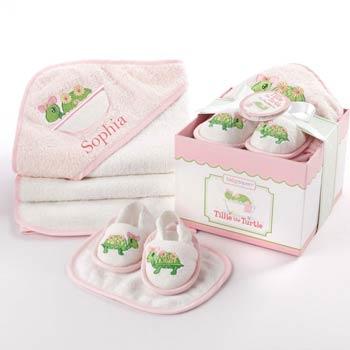 Baby Girl Bathtime Gift Box