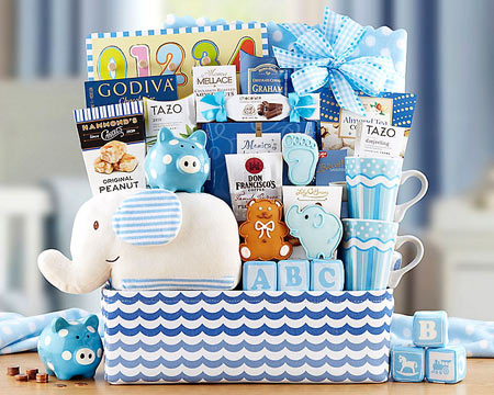 Baby Boy Gift Basket - $99.00
