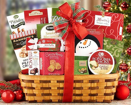 Business Holiday Gift Basket - $65.00