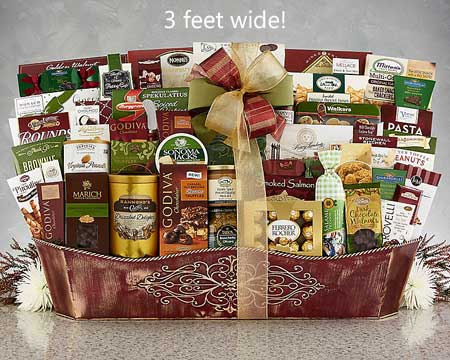 Corporate Holiday Gift Basket - $360.00